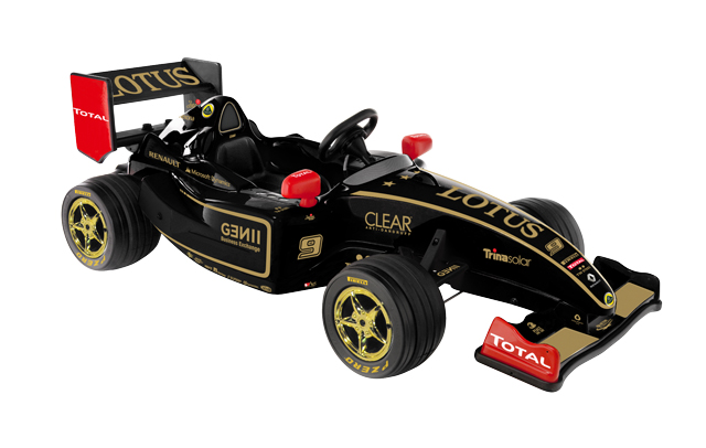 A Toy Electric Race Car That You Can Ride In